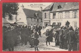 CPA: Pont L'Abbé (29) Un Marché Place Du Marhailach - Rue Lamartine - Pont L'Abbe