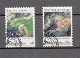 NATIONS  UNIES  VIENNE   1989   N° 92-93  OBLITERES     CATALOGUE YVERT - Centre International De Vienne