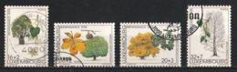Luxembourg 1995 : Timbres Yvert Et Tellier N° 1330 - 1331 - 1332 Et 1333 Avec Oblit. 1er Jour Et Oblit. Rondes. - Gebruikt