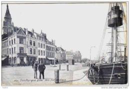 Carte Postale 59. Dunkerque Sandettie  Bateau Feu Au Quai Des Hollandais Trés Beau Plan - Dunkerque