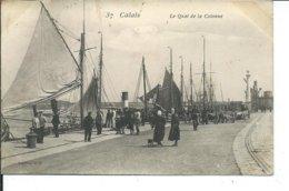 Calais-Le Quai De La Colonne - Calais