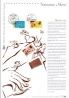 DOCUMENT FDC 2003 TIMBRES DE SOUHAITS - Documents De La Poste
