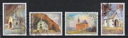 Luxembourg 1991 : Timbres Yvert Et Tellier N° 1234 - 1235 - 1236 Et 1237 Avec Oblit. 1er Jour ( Voir Photo ). - Gebruikt