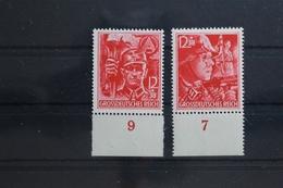 Deutsches Reich 909-910 ** Postfrisch Unterrand #TH467 - Deutschland