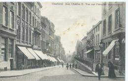 Charleroi - Rue Charles II - Vue Sur L'escalier Monumental - 1911 - Charleroi