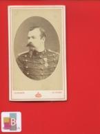 RARE Le Mans Chalons Marne Gustave  PHOTO Ancienne CDV Militaire Portrait Médaille 31 Régiment Artillerie  Circa 1870 - Photos