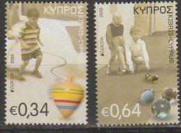Chypre Europa 2015 N° 1132/ 1133 ** Jouets Anciens - Europa-CEPT