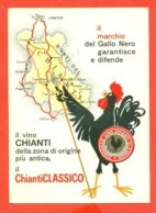 PUBBLICITARIE - VINI -  CHIANTI - GREVE - MARCOFILIA - Werbepostkarten