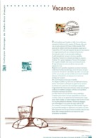 DOCUMENT FDC 2003 VACANCES - Documents De La Poste