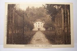 CHAMPIER   - LE  CHATELARD - France