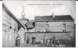 Cpa Noidant-Chatenoy - Rue Du Téléphone . - France