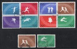 POLEN Yt. 1031/1038° Gestempeld 1960 - 1944-.... Republik