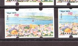 """Israël - 1996 - Timbres De Distributeurs - Série N° 18 ( 5 Valeurs + 1 """"valeur Omise"""") - Neufs ** - Haïfa - Vignettes D'affranchissement (Frama)"""