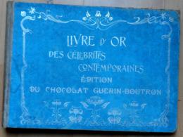 Album Collecteur Pour Chromo Image Célébrités   - Publicité CHOCOLAT GUERIN BOUTRON / VIDE En BE - Albums & Catalogues