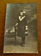 Antieke FOTO-- Postkaart  Door  L . COLLIN  Photographie  D'  Art  ALOST - Personnes Identifiées