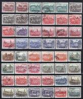 POLEN Yt. 1052/1069° Gestempeld 1960 - 1944-.... Republik