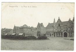 Nieuwpoort. Nieuport-Ville. La Place Et La Station. **** - Nieuwpoort