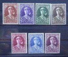 BELGIE  1931    Nr. 326 - 332       Scharnier *    CW  82,00 - Belgium