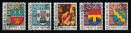 Luxembourg 1981 : Timbres Yvert Et Tellier N° 991 - 992 - 993 - 994 Et 995 Avec Oblitération 1er Jour ( Voir Photo ). - Luxemburgo
