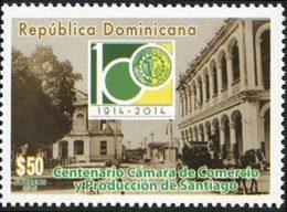 DOMINICAINE Cent.Chambre De Commerce 1v 2015 Neuf ** MNH - Dominicaine (République)