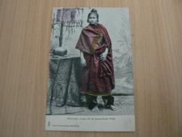 CP 97 / SRI LANKA CEYLON / ATJEHSCHE VROUW UIT DE BOVENSTREEK PIDIE / CARTE VOYAGEE - Sri Lanka (Ceylon)