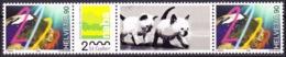Schweiz Suisse 1999: Millenium NABA Zu 985 (S78B) Katzen Mi 1705 ZW-Paar Cats Yv 1634 Chats ** MNH  (Zu CHF 8.00) - Zusammendrucke