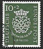 ALLEMAGNE  1950 -  Y&T  7 -  Bach  - Oblitéré - Cote 60e - [7] República Federal