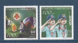 Turquie - Europa - Yt N° 3289 Et 3290 - Neuf Sans Charnière - 2007 - 1921-... Republiek