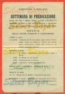 BOGLIACO- RELIGIONE - - Programmi