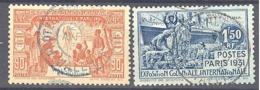 Wallis Et Futuna: Yvert N° 68/69 - Wallis And Futuna