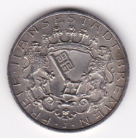 Nb_ Deutsches Reich  Bremen - 2 Mark - 1904 (59) - 2, 3 & 5 Mark Argento