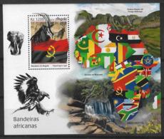 ANGOLA 2019 African Flags - Flaggen