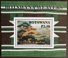 Botswana 1998 Weavers Minisheet MNH - Botswana (1966-...)