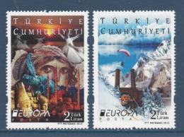 Turquie - Europa - Yt N° 3617 Et 3618 - Neuf Sans Charnière - 2012 - 1921-... Republic