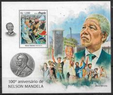 ANGOLA 2019 Nelson Mandela - Mahatma Gandhi