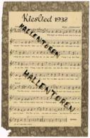 Antwerpen: Kieslied 1938 - Partitions Musicales Anciennes