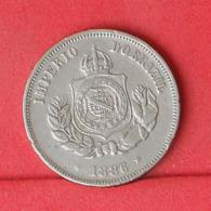 BRAZIL 50 REIS 1886 -    KM# 482 - (Nº31190) - Brasilien