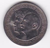 Nb_ Deutsches Reich  Anhalt - 3 Mark - 1914 Silberhochzeit (61) - [ 2] 1871-1918 : Duitse Rijk