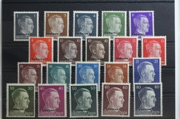 Deutsche Besetzung 2. WK Ukraine 534-545 ** Postfrisch #TG793 - Besetzungen 1938-45