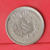 BRAZIL 100 REIS 1888 -    KM# 483 - (Nº31194) - Brasilien