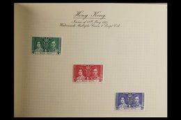 BRITISH COMMONWEALTH OMNIBUS FINE MINT COLLECTIONS. 1937-1953 FINE MINT COLLECTIONS In Special Dedicated Albums. Compri - Non Classificati