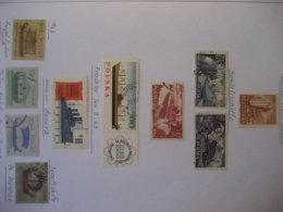 Polen- 3 Blatt Verschiedene Marken Gestempelt Mit Falz - 1944-.... Republik