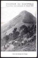 Souvenir Du GUATEMALA - CIME DU VOLCAN DE FUEGO - SUMMIT OF VOLCANO OF FUEGO - Guatemala