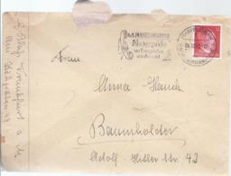 AK-div.28-480   - Brief Von Frankfurt Nach Baumholder Mit Inhalt - Sello Particular