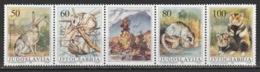 YUGOSLAVIA - 1992 - ( Protected Animals ) - Complete Set - MNH (**) - 1992-2003 Repubblica Federale Di Jugoslavia