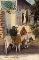 Thematiques Senegal Dakar Bourriquoliers Wolof Cachet Marine Française Service A La Mer Ecrite En 1916 Timbrée - Senegal
