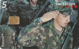 SUIZA. 7:00 Barracks, Herisau (AR). MILITARES. 5/00. SUI-CP-73A. (240) - Armada