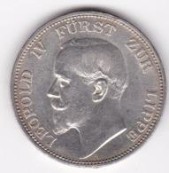 Nb_ Deutsches Reich Lippe - 3 Mark - 1913 -  Leopold IV. (63) - 2, 3 & 5 Mark Argento