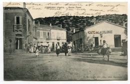 RC 13822 ALGERIE ZEMMORAH RUE DU TIARET - CAFÉ DE LA COLONIE TB - Algerien