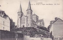 CPA - 76 - BARENTIN - Route De Duclair Et église Saint Martin - 6 - Barentin